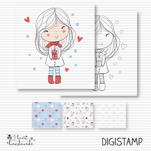 "DigiStamp ""Anna"" (Winterkinder)"