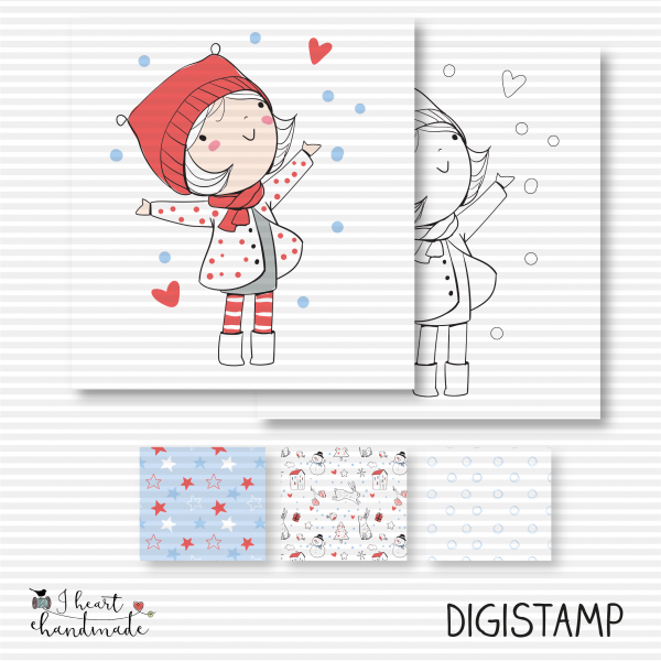 "DigiStamp ""Carla"" (Winterkinder)"
